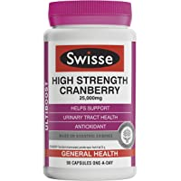 Swisse Swisse Ultiboost High Strength Cranberry 90 Cap, 0.198 kilograms