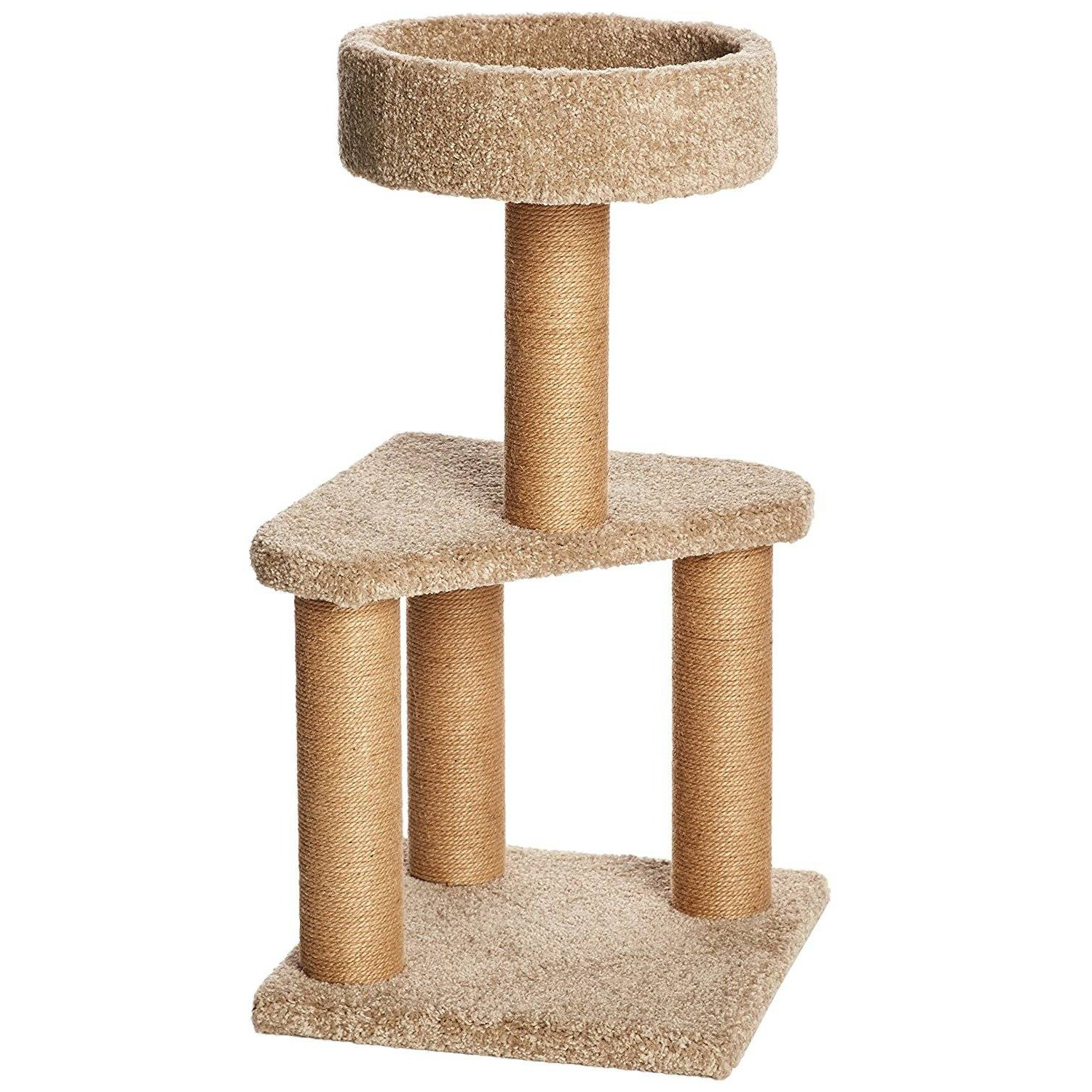 Cat climbing frame cat litter cat tree big cat sisal cat scratching cat cat jumping platform cat environmental toys M by SHUTAO (Image #1)