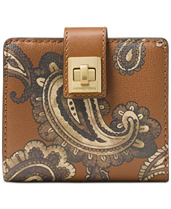 01399e95698d MICHAEL Michael Kors Studio Paisley Natalie Medium Wallet  148 Luggage at  Amazon Women s Clothing store
