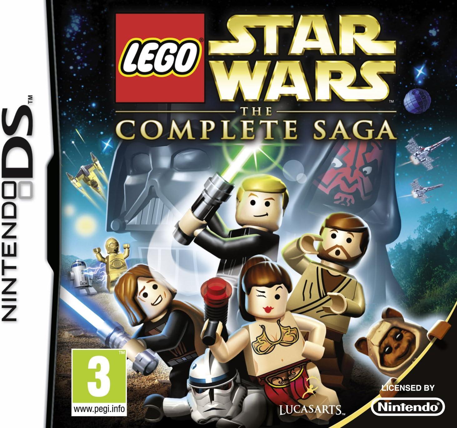 Lego Star Wars The Complete Saga Nintendo DS Game UK: Amazon.es: Videojuegos