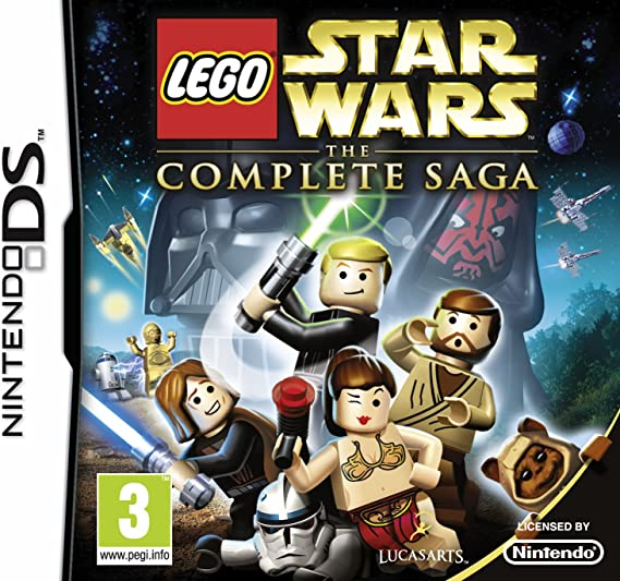 Lego Star Wars The Complete Saga Nintendo Ds Amazon Co