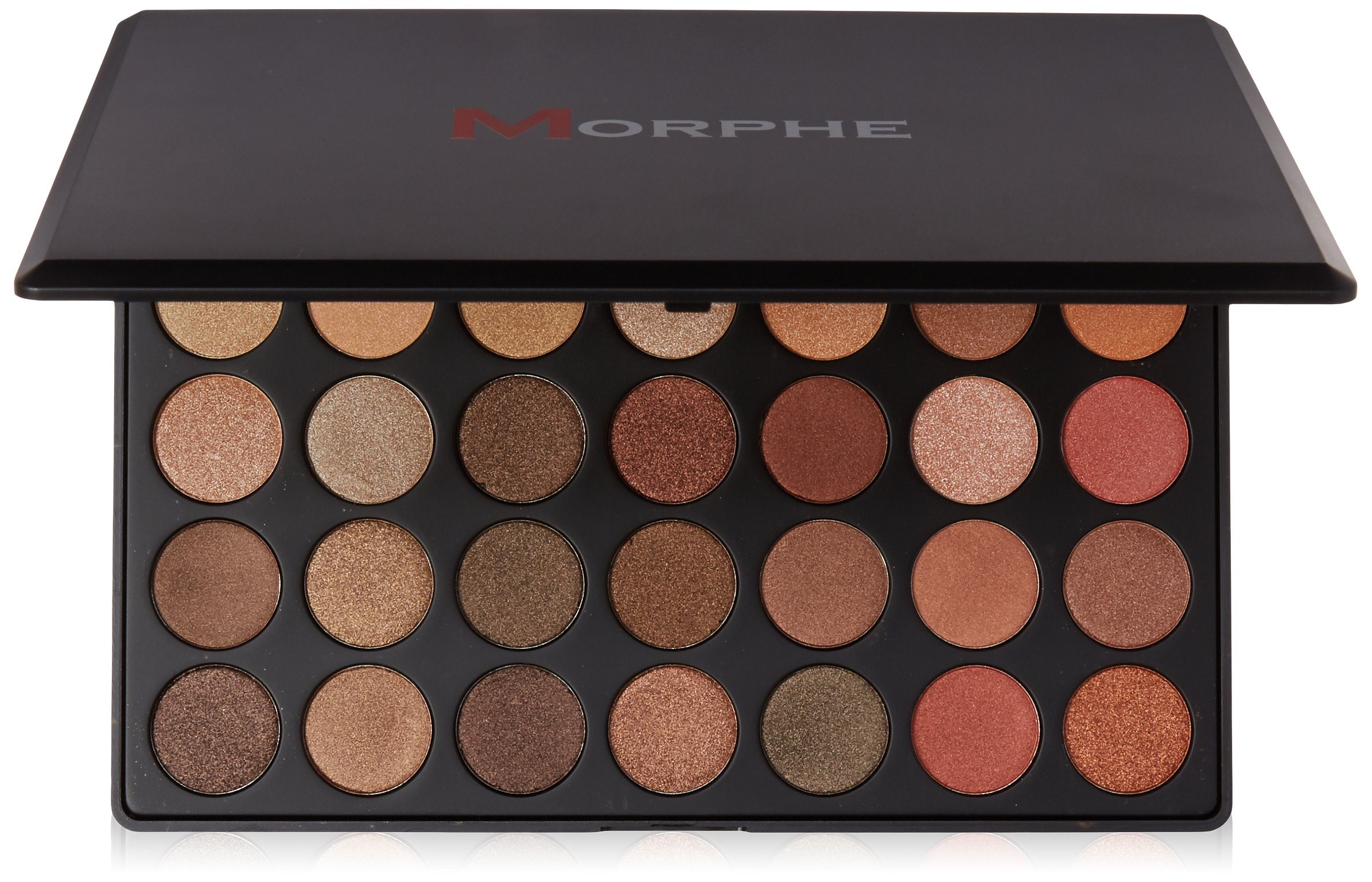 Morphe Brushes - 35OS - 35 Color Shimmer Nature Glow Eyeshadow Palette by Morphe Brushes
