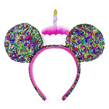 Amazon.com: Disney Parks Minnie Mouse Feliz cumpleaños oreja ...