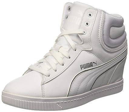Fs Puma L DonnaBiancoargento37 EuAmazon Wedge Sneaker Vikky n0wP8XOk
