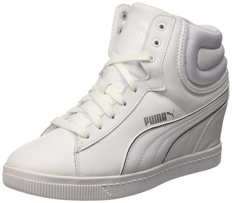 sneakers con zeppa puma
