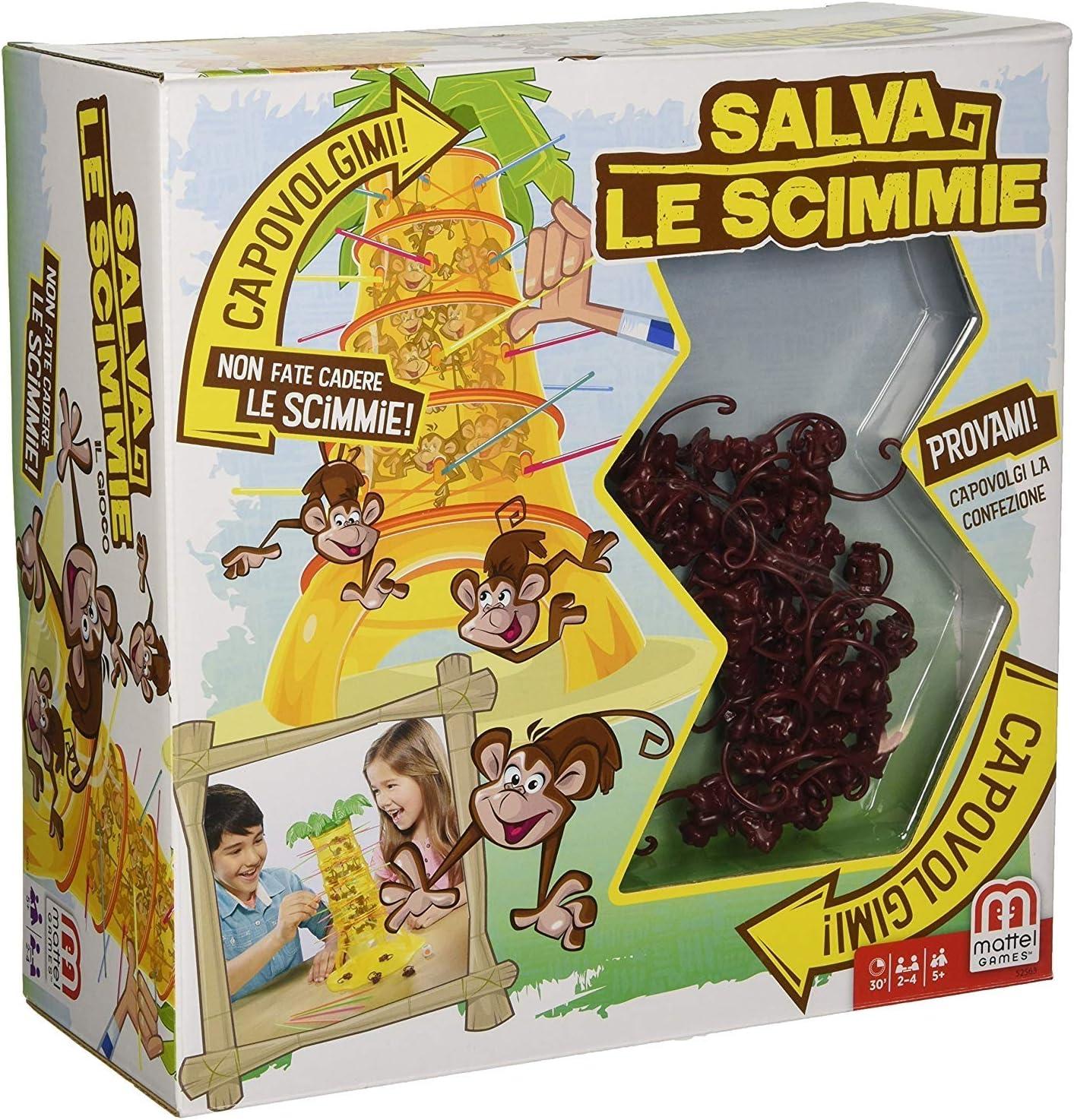 SALVA LA SCIMMIA: Amazon.es: Juguetes y juegos