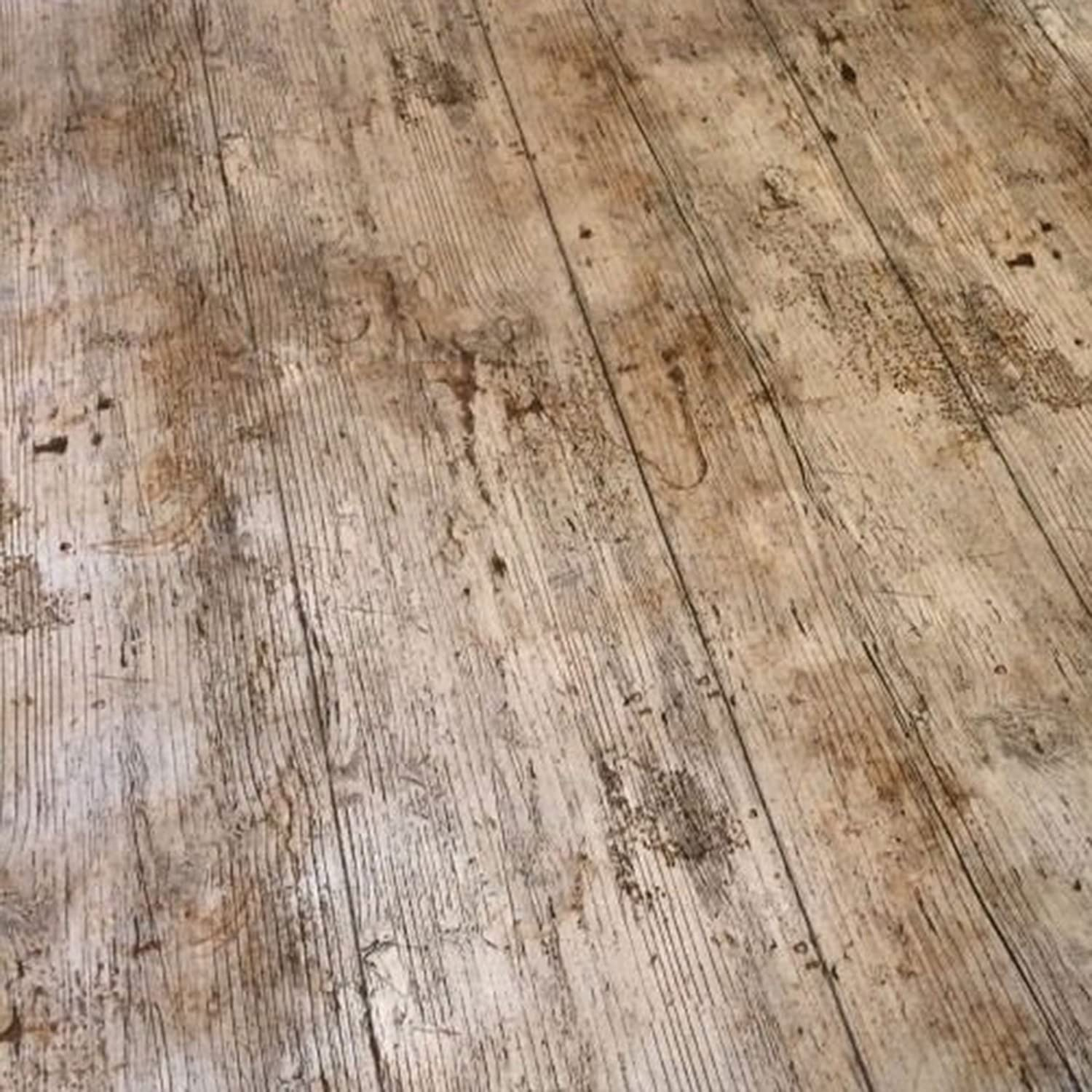 QPC DIRECT Wooden Plank Rustic Wood Effect Print PVC Oilcloth Table Cover  Vinyl Tablecloth 2 Metres: Amazon.co.uk: Kitchen U0026 Home