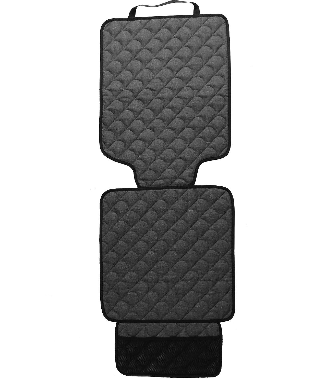 Gesteppte Kindersitzunterlage Schutzh/ülle f/ür Ihren Autositz Passend f/ür 5-Serie E60 Schonauflage f/ür die Autositze