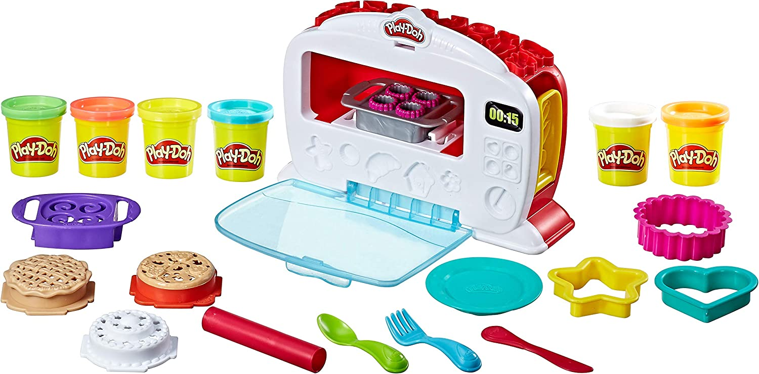 Amazon.com: Play-Doh Kitchen Creations Magical Oven: Toys & Games
