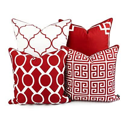 Amazon Com Hofdeco Valentine Indoor Outdoor Pillow Cover Only