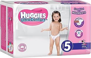 Huggies Ultraconfort, Niña, Etapa 5, 248 Pañales
