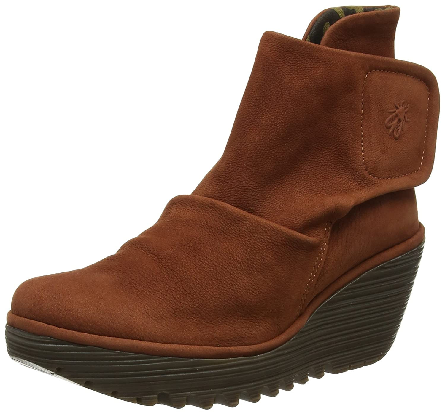 Fly London Yomi765fly, Botas para Mujer36 EU|Marrón (Brick)