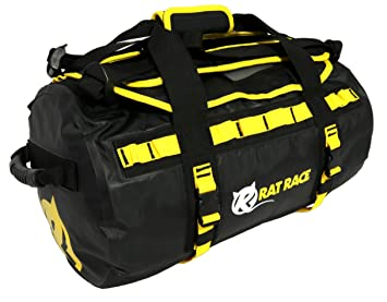 Image Unavailable. Image not available for. Colour  Rat Race Waterproof  Black Large Gym Bag, Sports Duffel Travel Backpack 40L for Women, b1b65de235