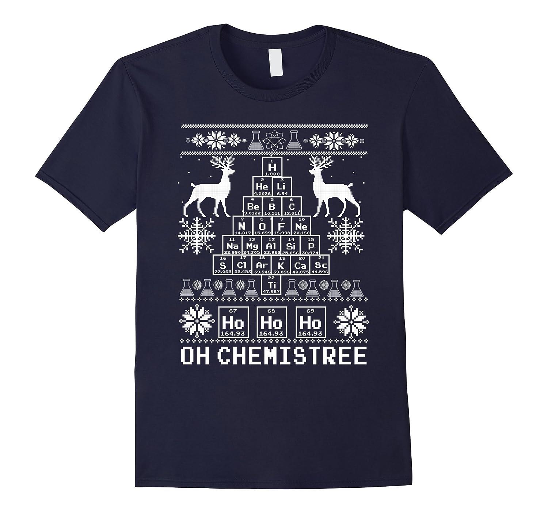 Chemist Tree Shirt, Oh Chemistry Tree Ugly Christmas Sweater-FL