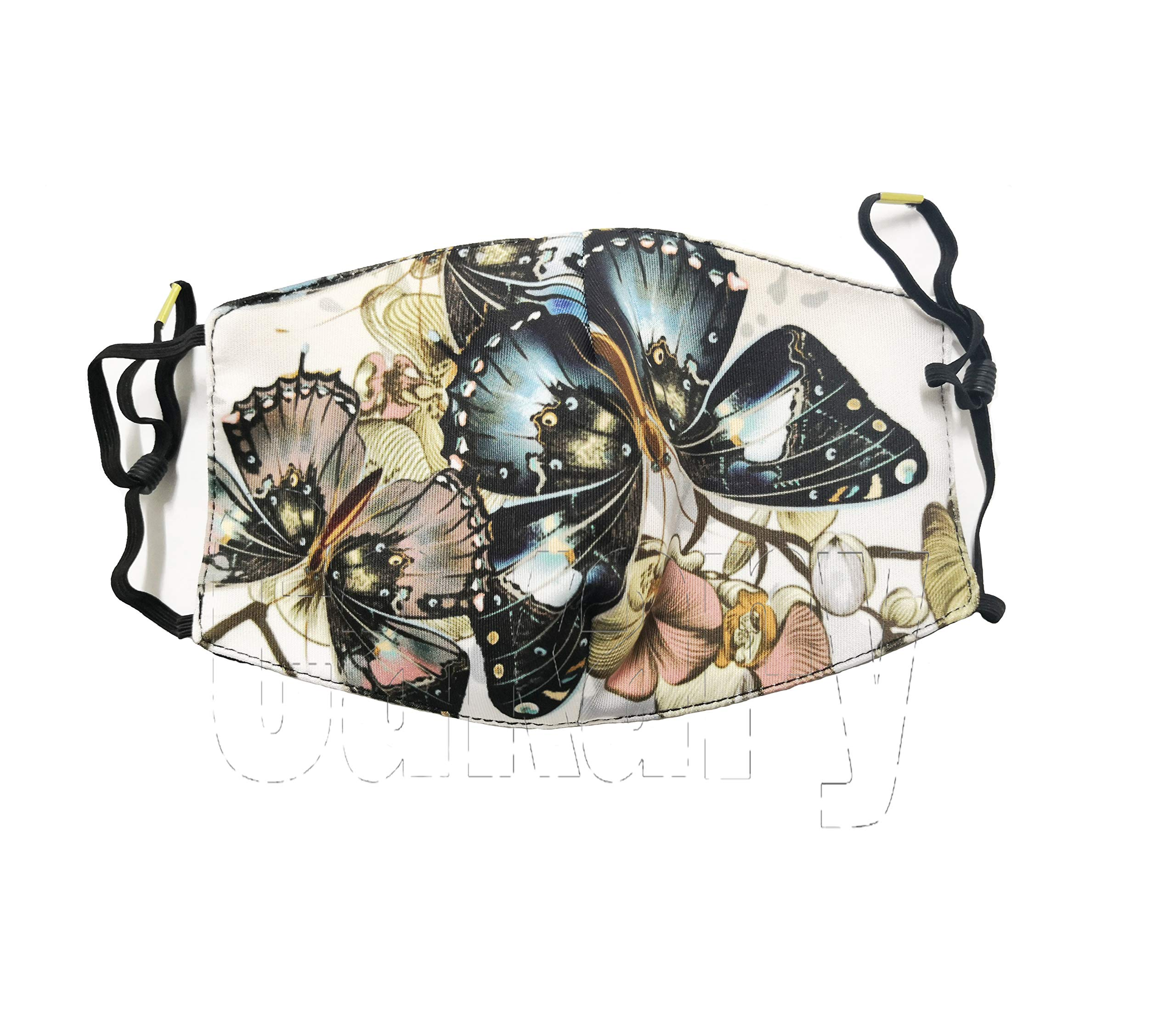 N7bloom Boys Winter Warm Mouth Anti-Dust Flu Face Mask Orchid Butterfly by N7bloom (Image #6)
