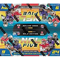 $99 » 2020 Panini Five Series Football Factory Sealed Booster Box of Packs with 240 Cards Total including Six Foil Parallels