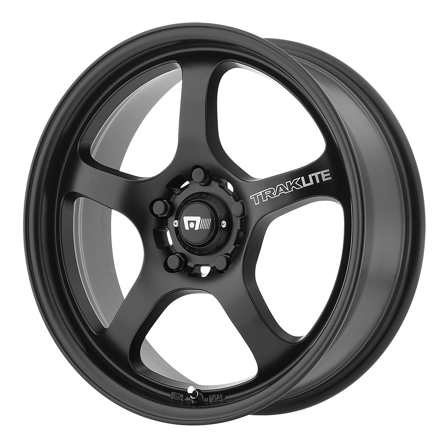 Amazon Motegi Racing MR131 Traklite Satin Black Wheel 17x8