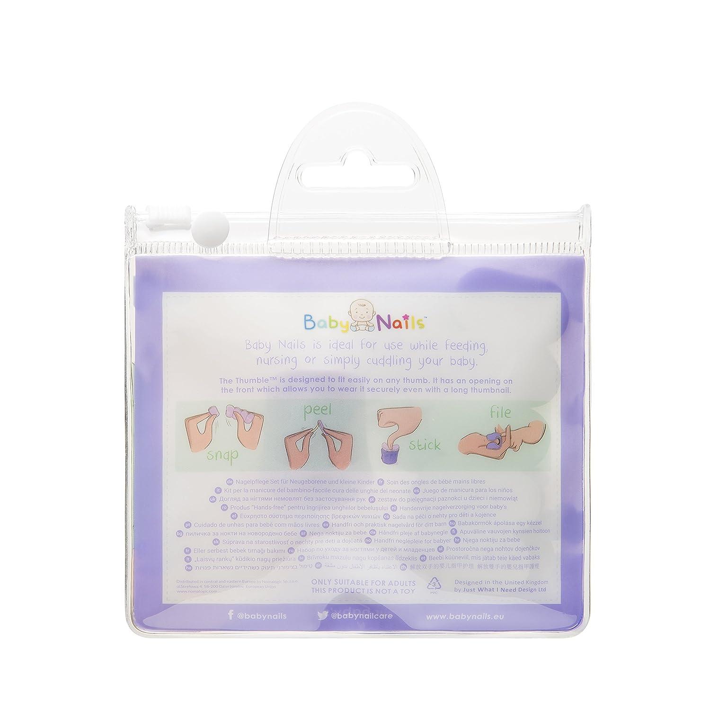 Lima de uñas para bebés (6 meses +) I Cuidado de uñas bebé I ...