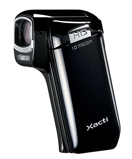 amazon com sanyo xacti cg10 dual camera hd flash memory camcorder rh amazon com Sanyo Waterproof Camcorder Sanyo Xacti Ca9