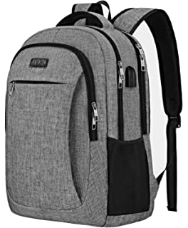 728024c781d Travel Laptop Backpack,IIYBC Anti Theft Laptop Bag with USB Charging Port  and Headphone Interface