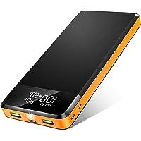 ORITO 26800mAh Power Bank USB C PD18W & QC3.0 Rápido Cargador Portátil, Bateria Externa Móvil Gran Capacidad con 3 Entradas y 3 Salidas y Pantalla LCD, para Móviles y Tabletas etc