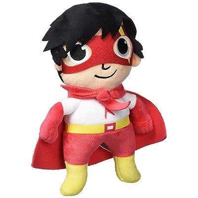 "RYAN'S WORLD Red Titan Plush 9"" Stuffed Cape: Toys & Games"