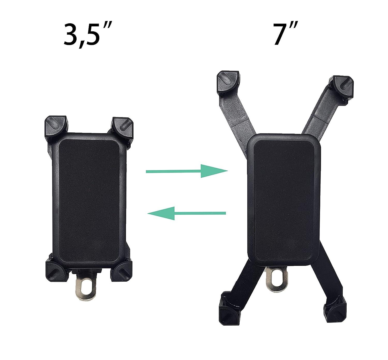 Samsung y Todos los Smartphones iPhone PBP-234 Xiaomi Soporte de M/óvil para Moto Universal con 4 Esquinas Antideslizante Universal y 360 Rotaci/ón para Huawei PRITECH