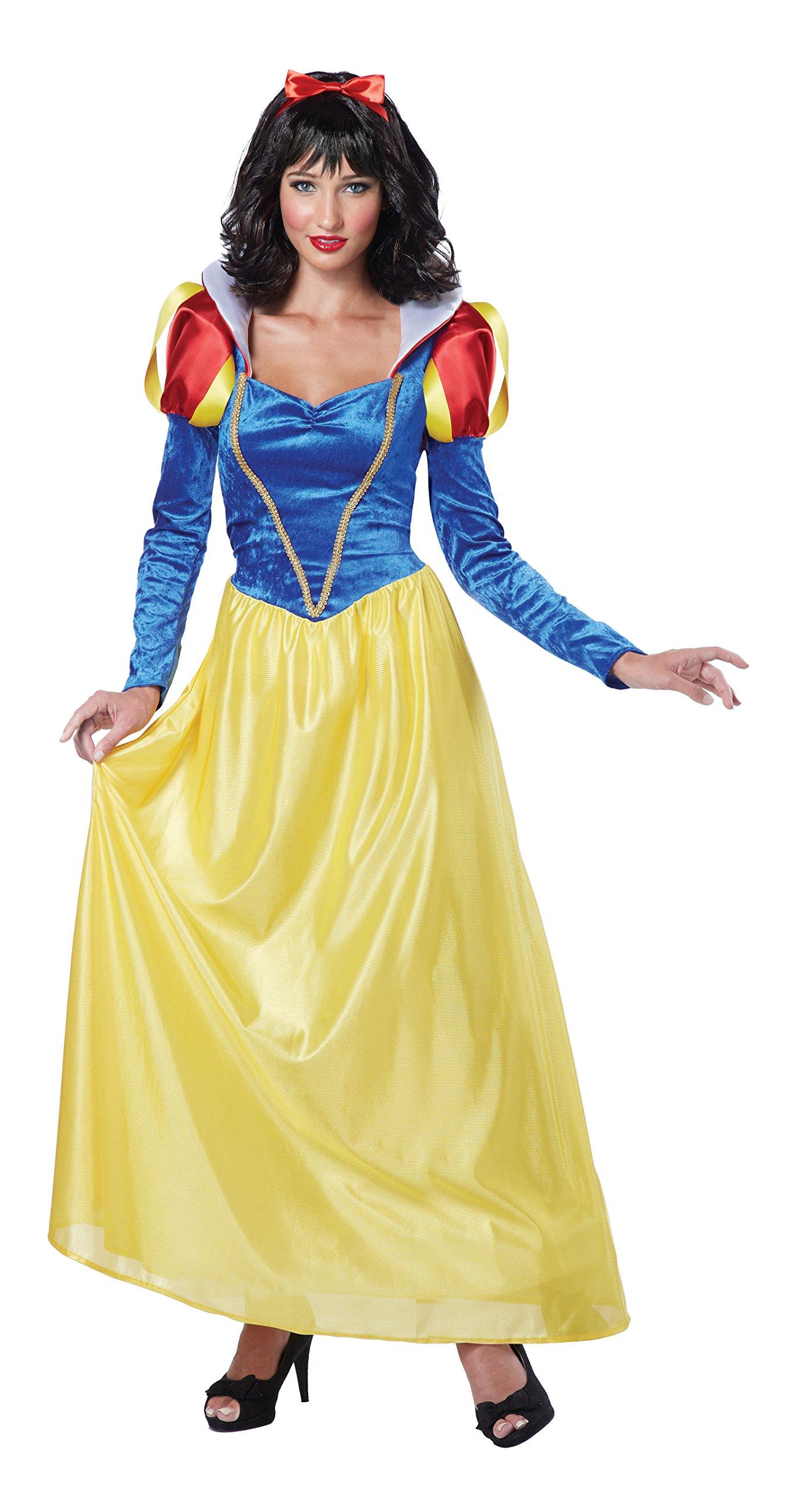California Costumes Women's Snow White,Blue/Yellow, Medium Costume