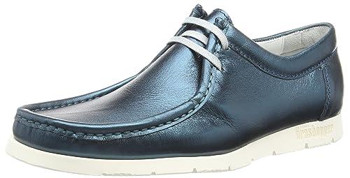 Sioux Grashopper-D-141 Macas, Mocasines para Mujer, Blau (Cobalto), 38 EU: Amazon.es: Zapatos y complementos