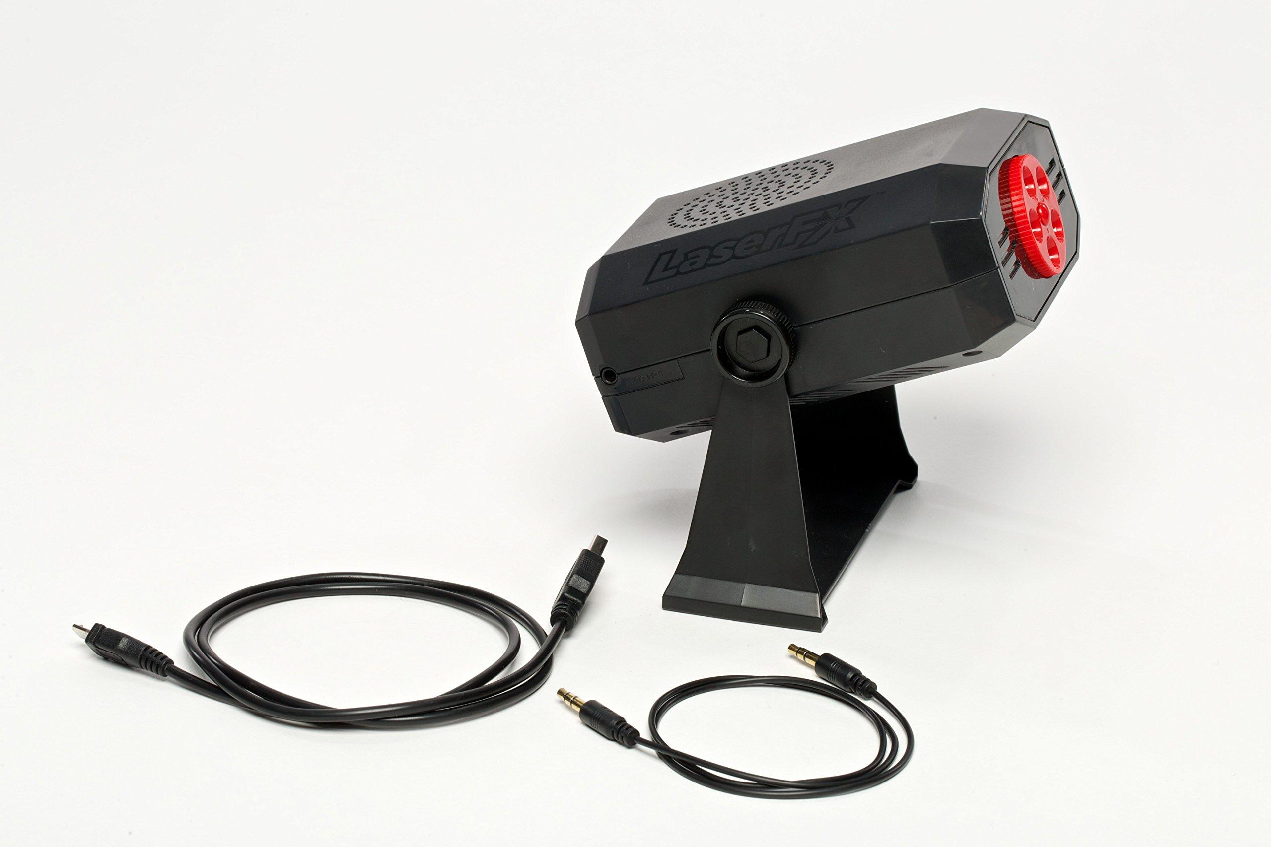 LASER FX Indoor Light with Built-in Speaker by LASER FX