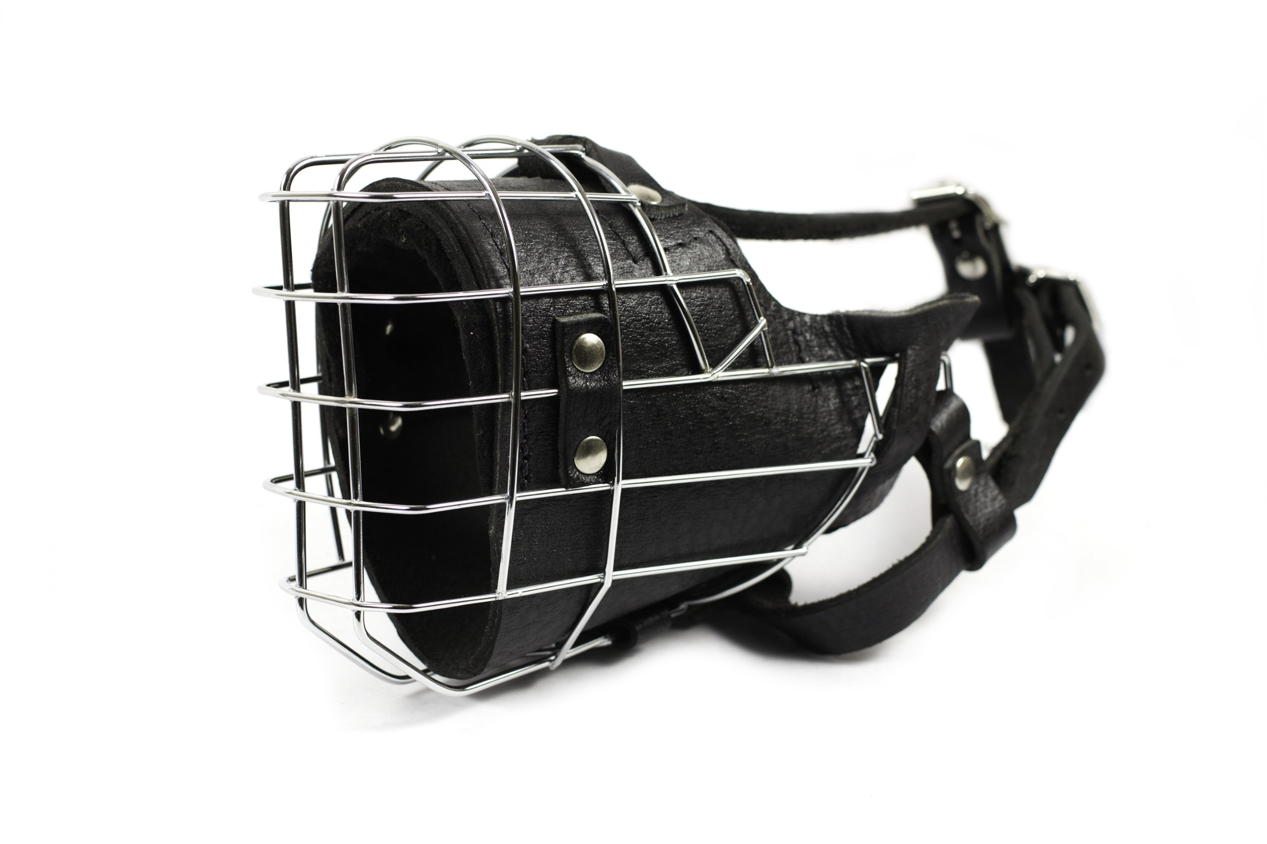 Dean and Tyler DT Freedom Fully Padded Muzzle, Belgian Malinois