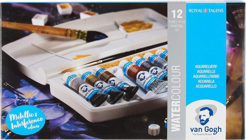 Royal Talens Van Gogh Pocket Acuarela Pintura Set-metálico & Interferencia Colores: Amazon.es: Hogar