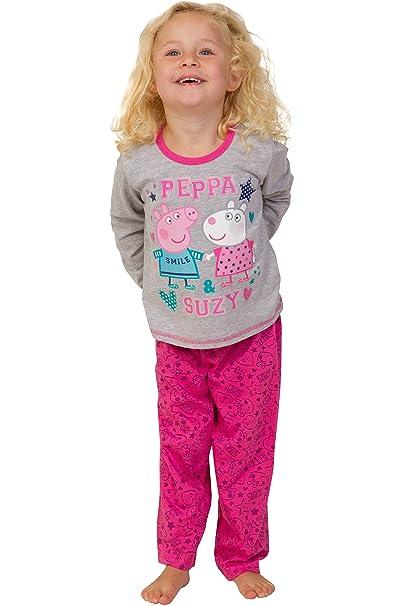Pijama de Peppa Pig y Suzy para niñas de ThePyjamaFactory (2-3