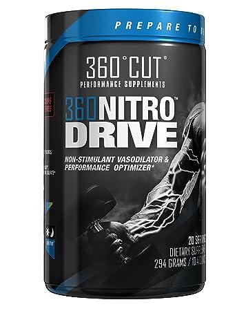 d6ce5c4ae80 360NitroDrive Caffeine Free Stimulant Free Nitric Oxide Pump Enhancer with  HydroMax