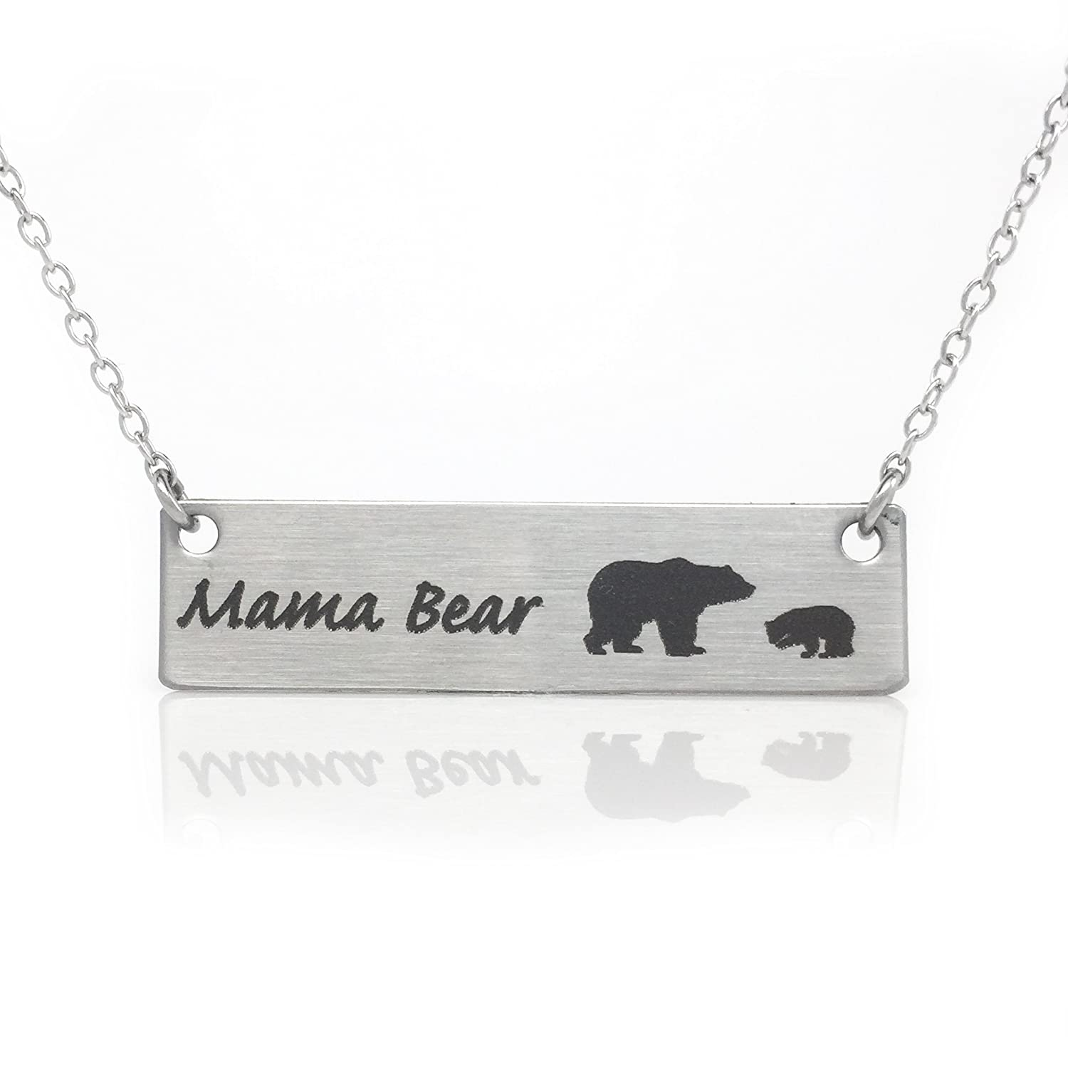 il jewelry necklace silver mama pure sterling products fullxfull new bear life