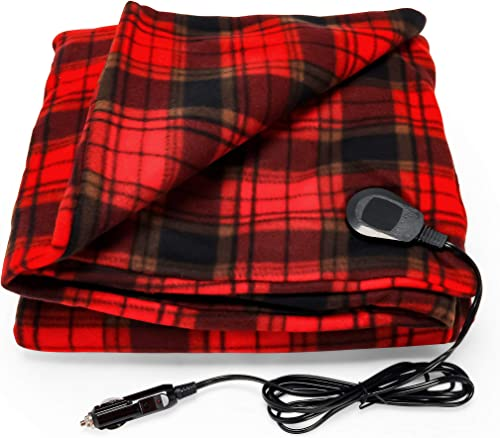 Camco Polar Fleece Heated Blanket