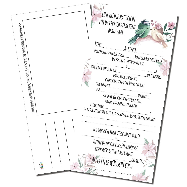 Partycards Hochzeitsgästebuch Als Hochzeitsspiel Personalisiert Mit