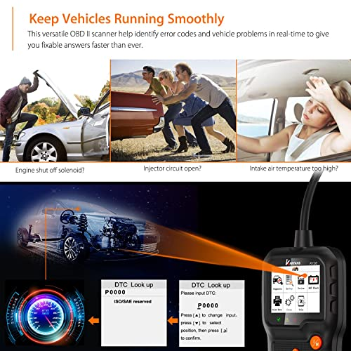 The KARFANS K120 OBD2 scan tool is a new entrant to the world of OBD scanners.