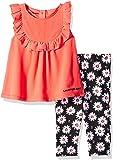 Calvin Klein Baby-Girls 2 Pieces Legging Set Pants Pants Set - Multi