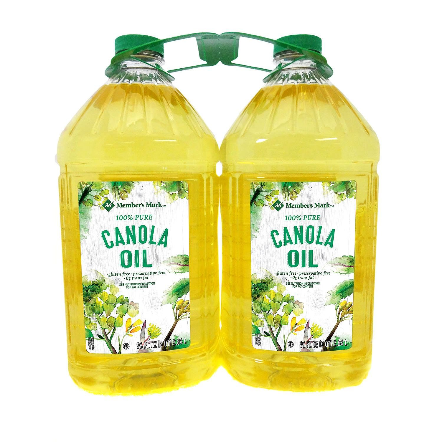 Member's Mark Canola Oil 3 qt., 2 pk. (pack of 3) A1