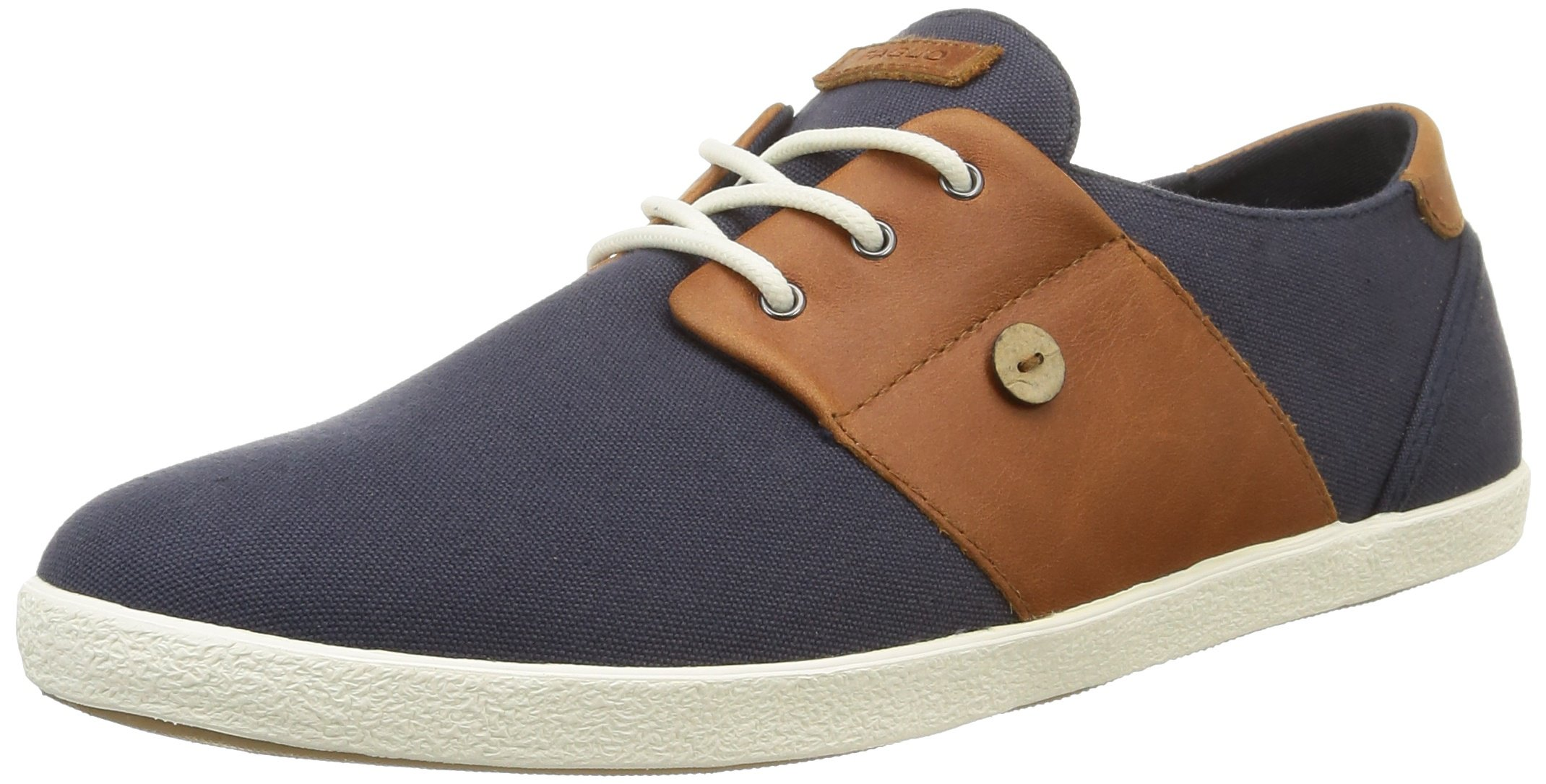 Faguo Mens Cypress Dual Fabric Trainers Blue Size 41