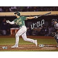 "$59 » Matt Chapman Oakland Athletics Autographed 8"" x 10"" Swing Photograph - Fanatics Authentic Certified - Autographed MLB Photos"