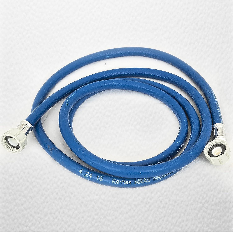 Ezee-fix - Manguera de llenado para lavadora (2,5 m), color azul