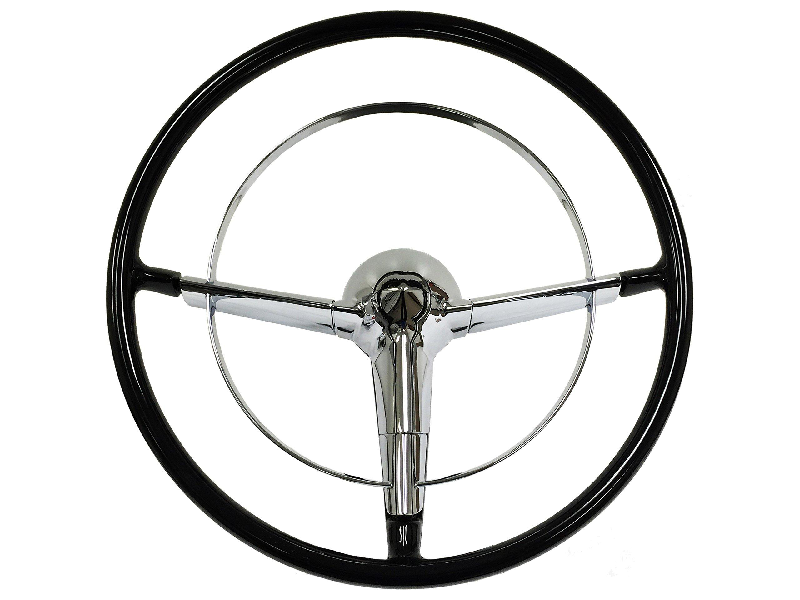 1955-1956 16'' Chevy Bel Air / 210 / TRI 5 Steering Wheel KIT NEW