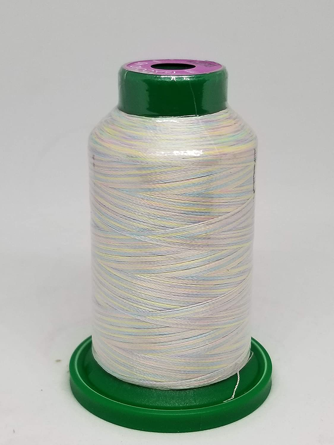 Isacord Embroidery Thread Variegated (9981 Glowing Brights) Amman