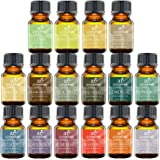 ArtNaturals Aromatherapy Top-16 Essential Oil Set - 100% Pure of the Highest Therapeutic Grade Quality - Premium Edition Sampler Gift Set – Lavender, Peppermint, Tea Tree, Eucalyptus Rosemary and More