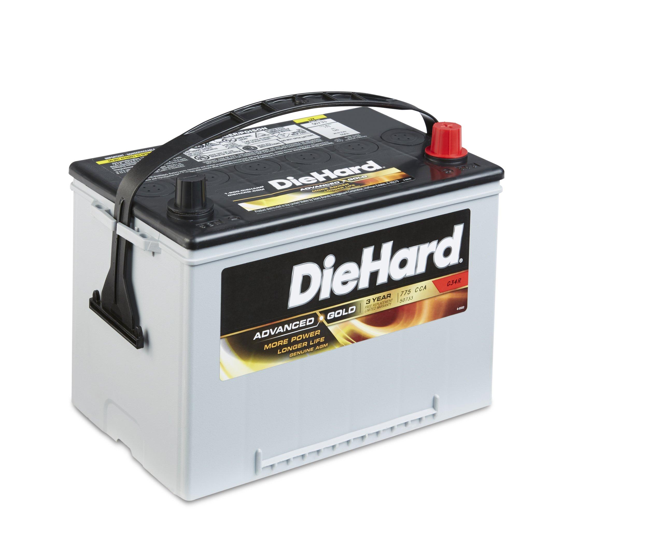 DieHard 38188 Advanced Gold AGM Battery (GP 34R)