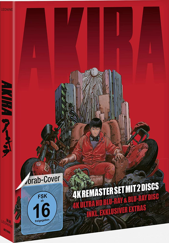 Multi Retailer Akira 4k Uhd 2d Blu Ray Limited Edition Germany 4k Media Psychos