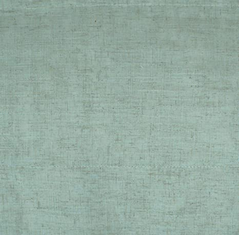 * Reduced* Duck Egg Linen Lined Roman Blind With Fittings 61cm 2ft