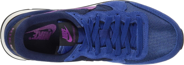 Nike Internationalist, Damen Outdoor Fitnessschuhe, Blau